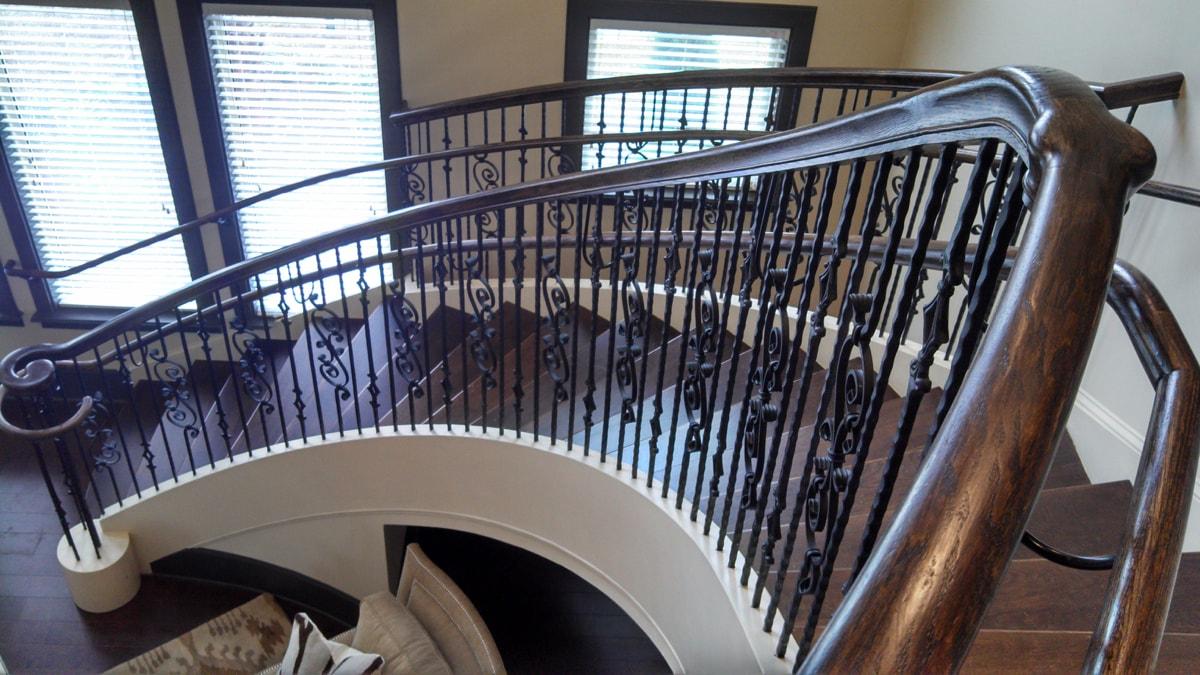 metal stair railings